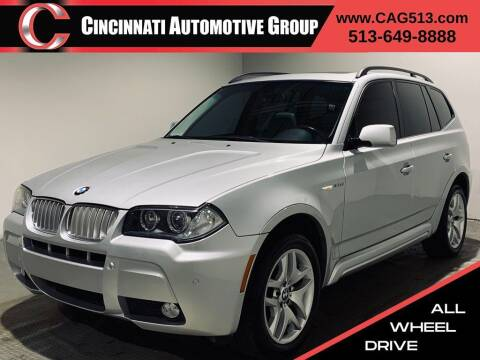 2007 BMW X3 for sale at Cincinnati Automotive Group in Lebanon OH