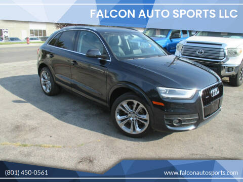 2015 Audi Q3 for sale at Falcon Auto Sports LLC in Murray UT
