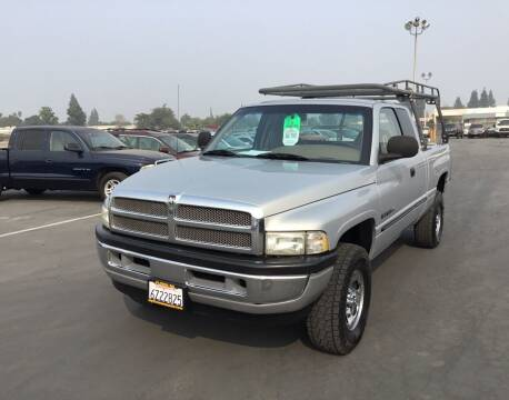 2000 Dodge Ram Pickup 1500 for sale at My Three Sons Auto Sales in Sacramento CA