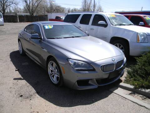 2013 BMW 6 Series for sale at Cimino Auto Sales in Fountain CO