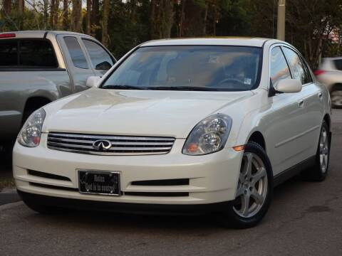 2004 Infiniti G35 for sale at Deal Maker of Gainesville in Gainesville FL