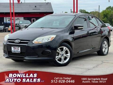 2013 Ford Focus for sale at Bonillas Auto Sales in Austin TX