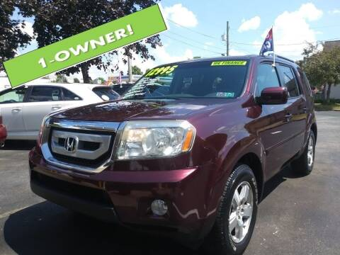 2011 Honda Pilot for sale at Oak Hill Auto Sales of Wooster, LLC in Wooster OH