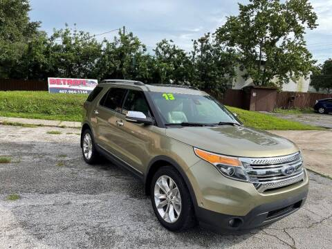 2013 Ford Explorer for sale at Detroit Cars and Trucks in Orlando FL