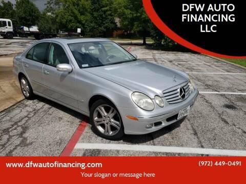 2006 Mercedes-Benz E-Class for sale at Bad Credit Call Fadi in Dallas TX