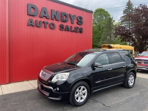 2012 GMC Acadia for sale at Dandy's Auto Sales in Forest Lake MN