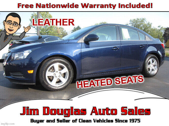 2011 Chevrolet Cruze for sale at Jim Douglas Auto Sales in Pontiac MI