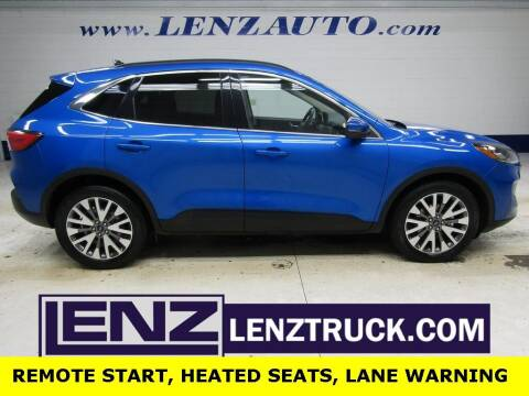 2020 Ford Escape Hybrid for sale at LENZ TRUCK CENTER in Fond Du Lac WI