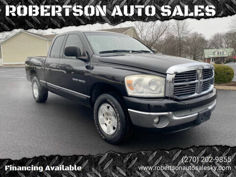 2007 Dodge Ram Pickup 1500 for sale at ROBERTSON AUTO SALES in Bowling Green KY