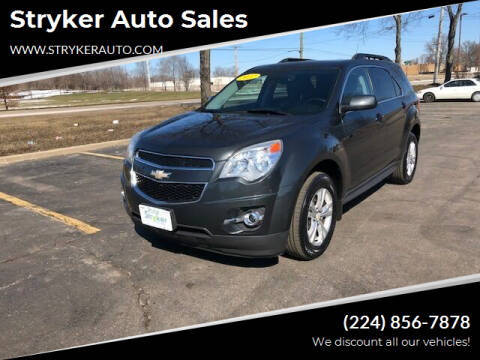 2012 Chevrolet Equinox for sale at Stryker Auto Sales in South Elgin IL