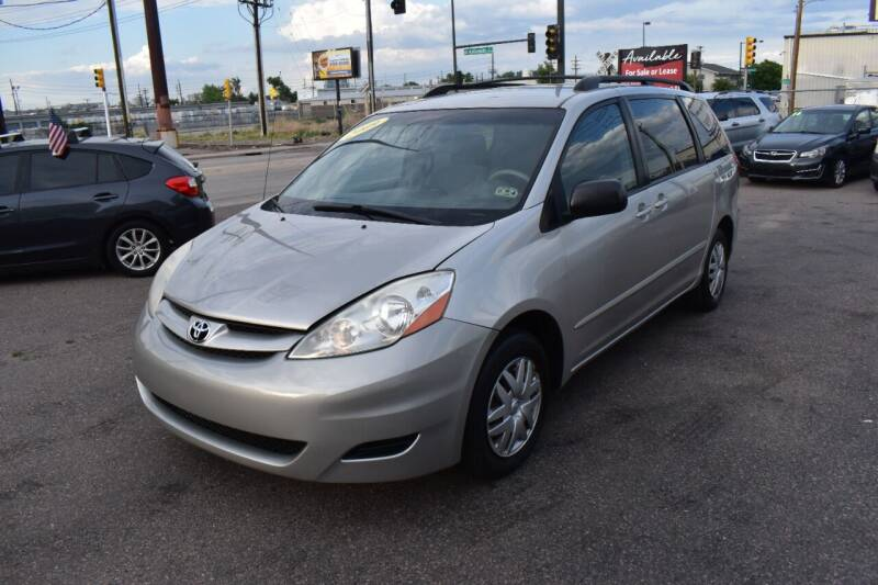 2009 Toyota Sienna for sale at Good Deal Auto Sales LLC in Denver CO