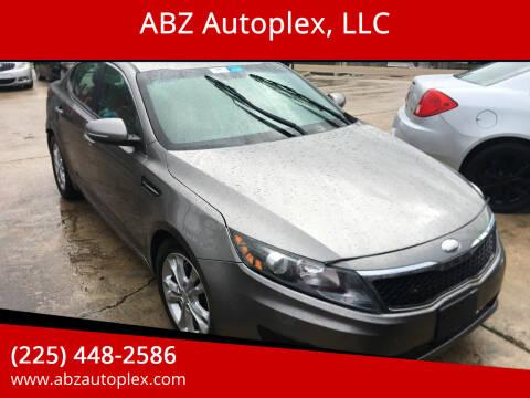 2013 Kia Optima for sale at ABZ Autoplex, LLC in Baton Rouge LA