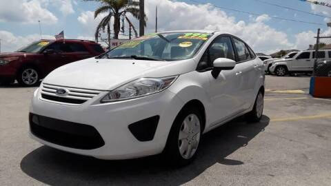 2012 Ford Fiesta for sale at GP Auto Connection Group in Haines City FL