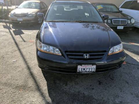 2002 Honda Accord for sale at Auto City in Redwood City CA