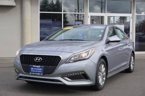 2017 Hyundai Sonata Hybrid for sale at Jeremy Sells Hyundai in Edmunds WA