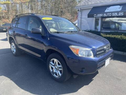 2007 Toyota RAV4 for sale at Clear Auto Sales 2 in Dartmouth MA
