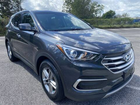 2017 Hyundai Santa Fe Sport for sale at JOE BULLARD USED CARS in Mobile AL