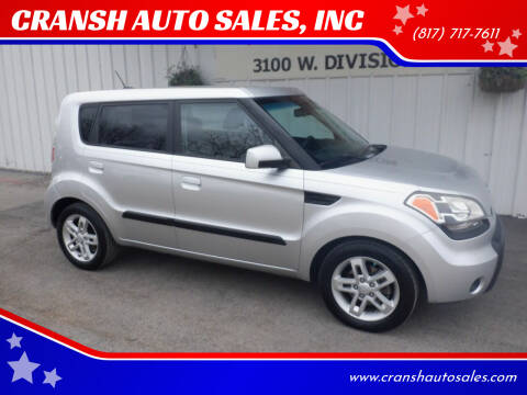 2010 Kia Soul for sale at CRANSH AUTO SALES, INC in Arlington TX