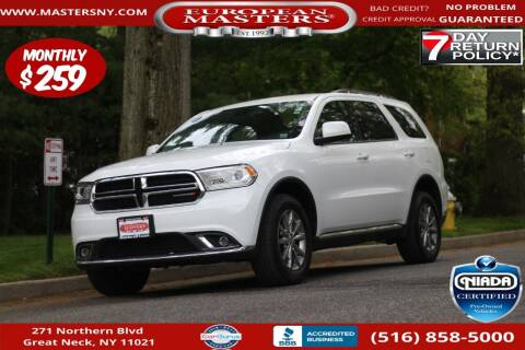 2018 Dodge Durango for sale at European Masters in Great Neck NY