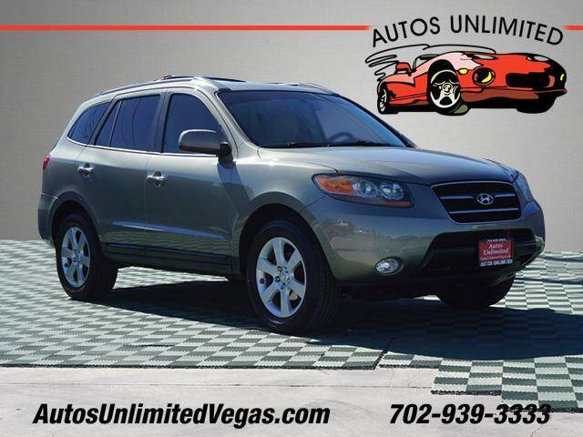 2007 Hyundai Santa Fe for sale at Autos Unlimited in Las Vegas NV
