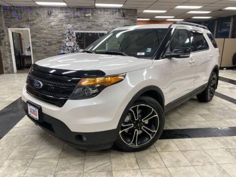 2015 Ford Explorer for sale at Sonias Auto Sales in Worcester MA