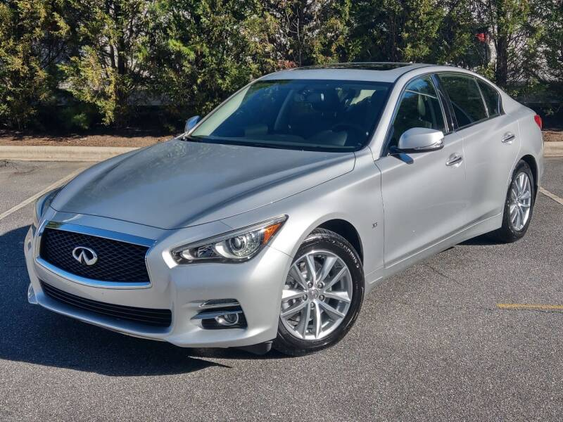 2015 Infiniti Q50 for sale at Mich's Foreign Cars in Hickory NC