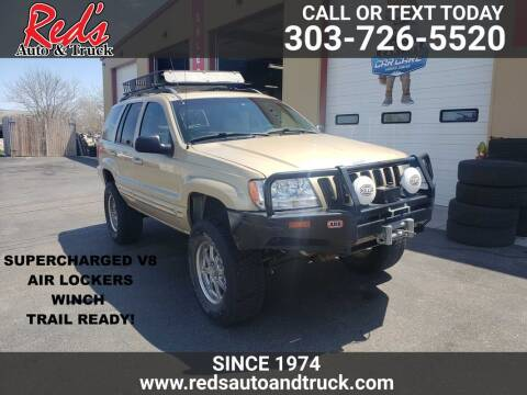 1999 Jeep Grand Cherokee for sale at Red's Auto and Truck in Longmont CO