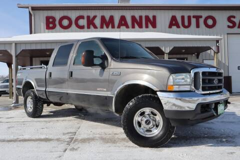2003 Ford F-250 Super Duty for sale at Bockmann Auto Sales in St. Paul NE