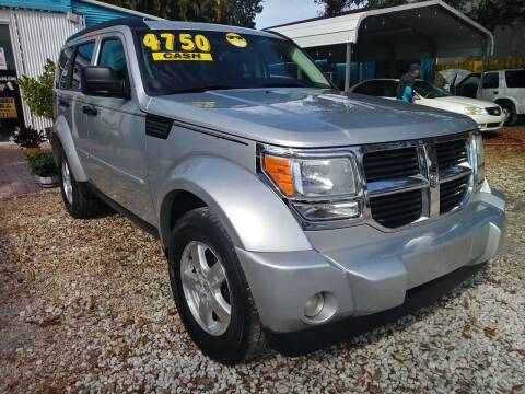 2008 Dodge Nitro for sale at AFFORDABLE AUTO SALES OF STUART in Stuart FL