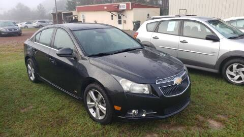 2014 Chevrolet Cruze for sale at Lakeview Auto Sales LLC in Sycamore GA