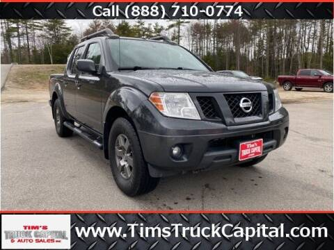 2012 Nissan Frontier for sale at TTC AUTO OUTLET/TIM'S TRUCK CAPITAL & AUTO SALES INC ANNEX in Epsom NH