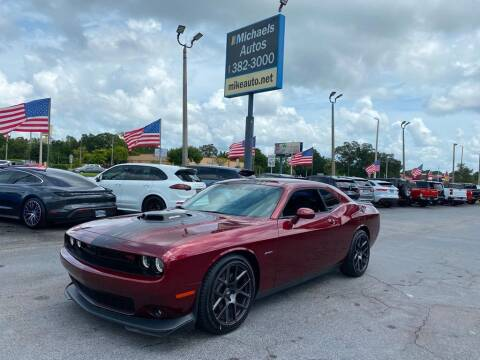 2019 Dodge Challenger for sale at Michaels Autos in Orlando FL