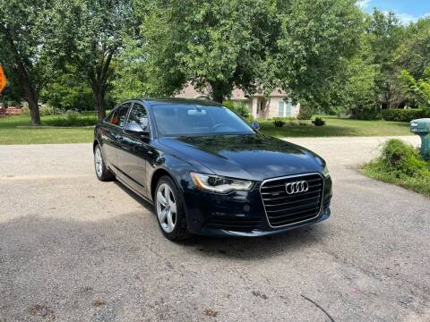 2012 Audi A6 for sale at CARWIN MOTORS in Katy TX