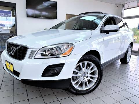 2010 Volvo XC60 for sale at SAINT CHARLES MOTORCARS in Saint Charles IL