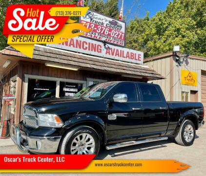 2013 RAM Ram Pickup 1500 for sale at Oscar's Truck Center, LLC in Houston TX