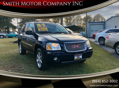 2007 GMC Envoy for sale at Smith Motor Company INC in Mc Cormick SC