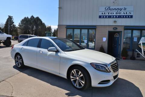 2016 Mercedes-Benz S-Class for sale at Danny's Auto Deals in Grafton WI