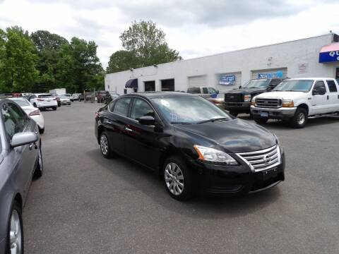 2014 Nissan Sentra for sale at United Auto Land in Woodbury NJ
