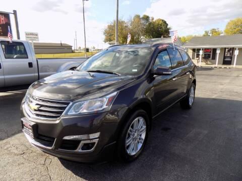 2015 Chevrolet Traverse for sale at MYLENBUSCH AUTO SOURCE in O'Fallon MO