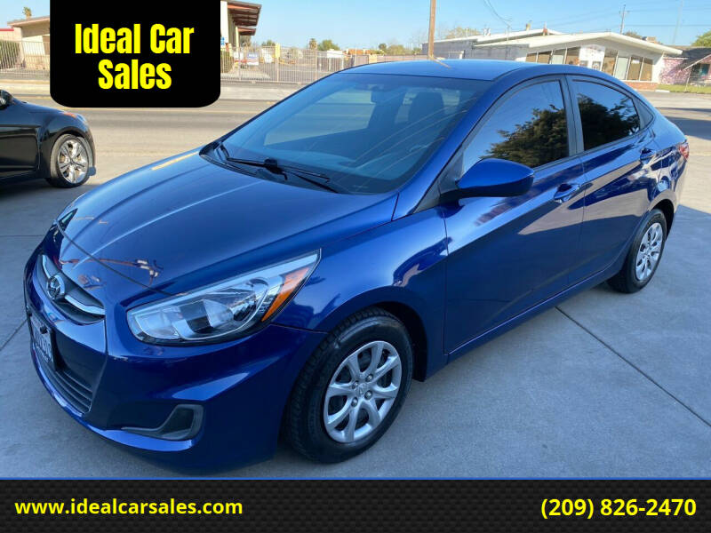 2017 Hyundai Accent for sale at Ideal Car Sales in Los Banos CA