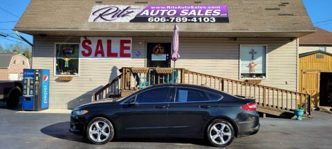 2014 Ford Fusion for sale at Ritz Auto Sales, LLC in Paintsville KY