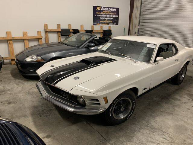 1970 Ford Mustang MACH1 for sale at A7 AUTO SALES in Holly Hill FL