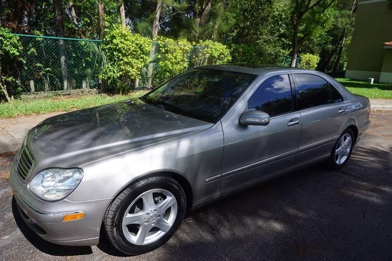 2005 Mercedes-Benz S-Class for sale at Best Price Car Dealer in Hallandale Beach FL
