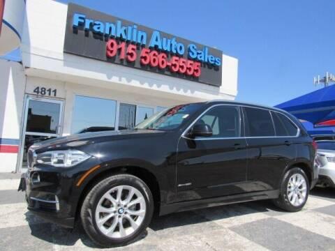 2015 BMW X5 for sale at Franklin Auto Sales in El Paso TX