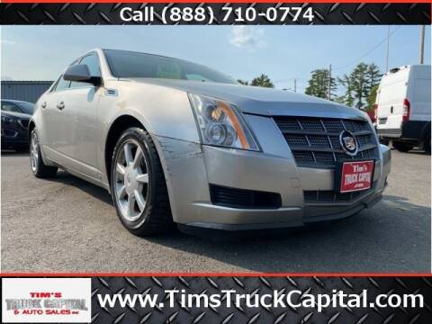 2008 Cadillac CTS for sale at TTC AUTO OUTLET/TIM'S TRUCK CAPITAL & AUTO SALES INC ANNEX in Epsom NH