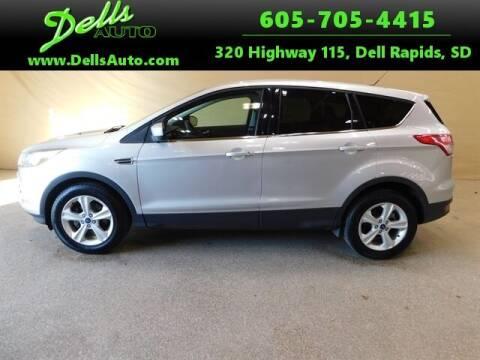 2016 Ford Escape for sale at Dells Auto in Dell Rapids SD