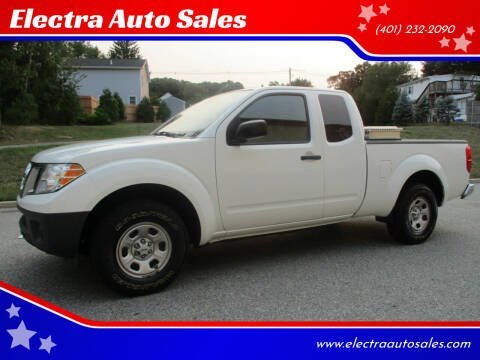 2016 Nissan Frontier for sale at Electra Auto Sales in Johnston RI
