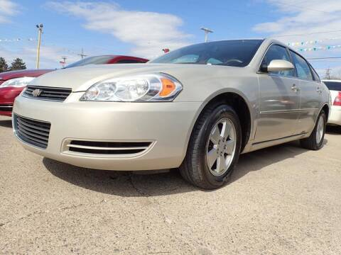2008 Chevrolet Impala for sale at RPM AUTO SALES in Lansing MI