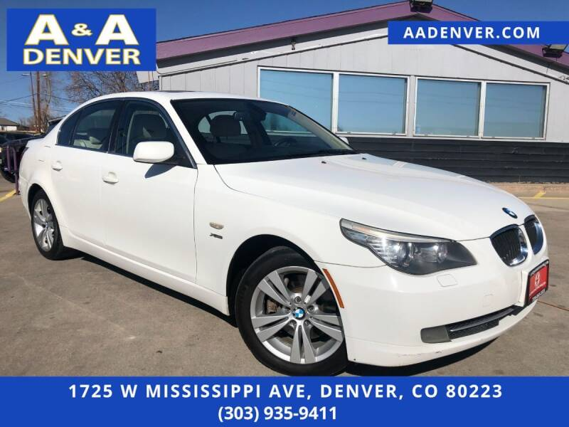 2010 BMW 5 Series for sale at A & A AUTO LLC in Denver CO