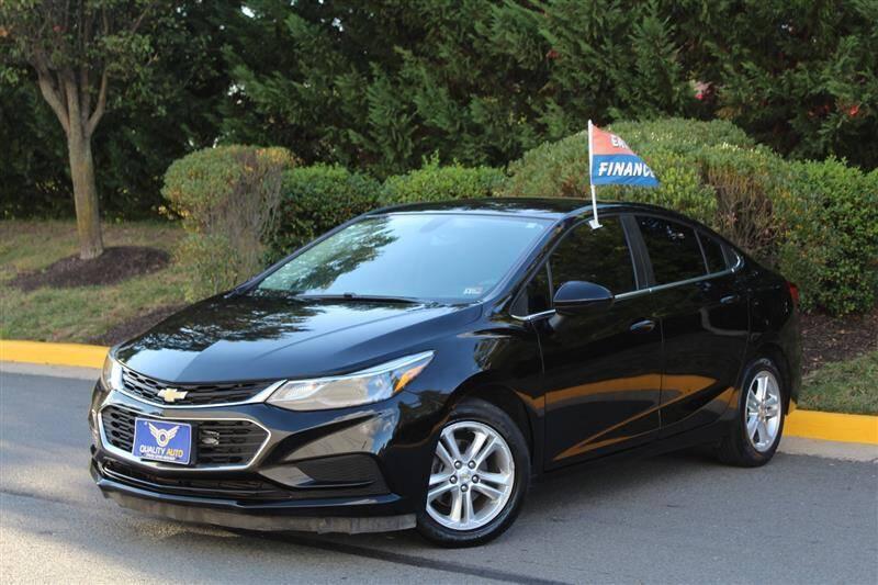2017 Chevrolet Cruze for sale at Quality Auto in Manassas VA